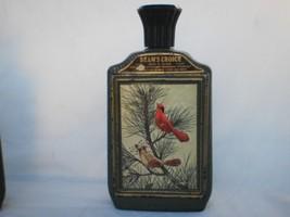 Pair of Vintage Jim Beam Cardinal Bottles Special Edition James Lockhart Bird - $19.99
