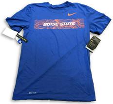New NWT Boise State Broncos Nike Dri-Fit Seismic Sideline Legend Small T-Shirt - $28.66