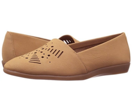 A2 by Aerosoles Trend Right Women's Size 9 Beige Laser Cut Loafer Flats Shoes - $24.03