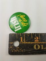 Vintage Hallmark Holiday St Patrick's Day Pin Irish For A Day image 3