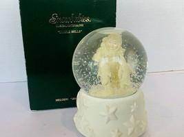 Snowbabies Snowglobe Jingle Bells Snow Globe snowdome musical waterglobe... - $91.92