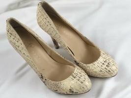 Ivanka Trump ITPINKSY Womens Snake Skin Print Leather Sole Size 7.5 M Heels - $29.70