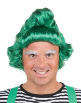 """Deluxe Green Elf Wig Santa""""S Elf Christmas Holiday Adult Costume Accessory - $19.99"""