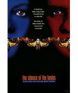 THE SILENCE OF THE LAMBS Movie Poster RARE Hannibal Lecter Anthony Hopk... - $28.00