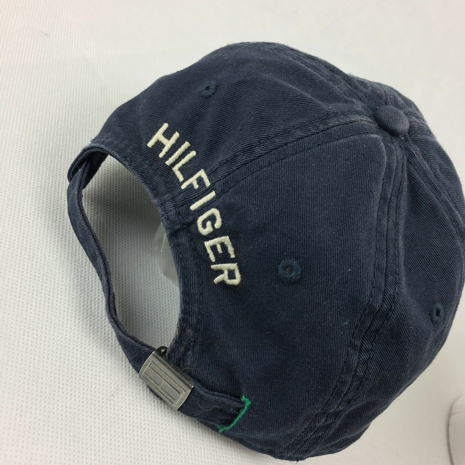 New Tommy Hilfiger Spell Out Adjustable Casual Cotton Dad Hat Cap Tan Khaki