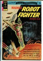 Magnus Robot Fighter #34 1969-Gold Key-Russ Manning-rocket cover-origin-G - $15.13