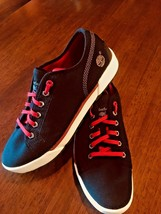 TIMBERLAND Earthkeepers Canvas Unisex Trainers Blue Red Lace Sz M 7  W 9... - $30.06