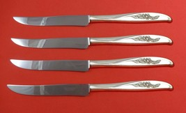 Penrose by Wallace Sterling Silver Steak Knife Set 4pc Texas Sized Custom - $247.10