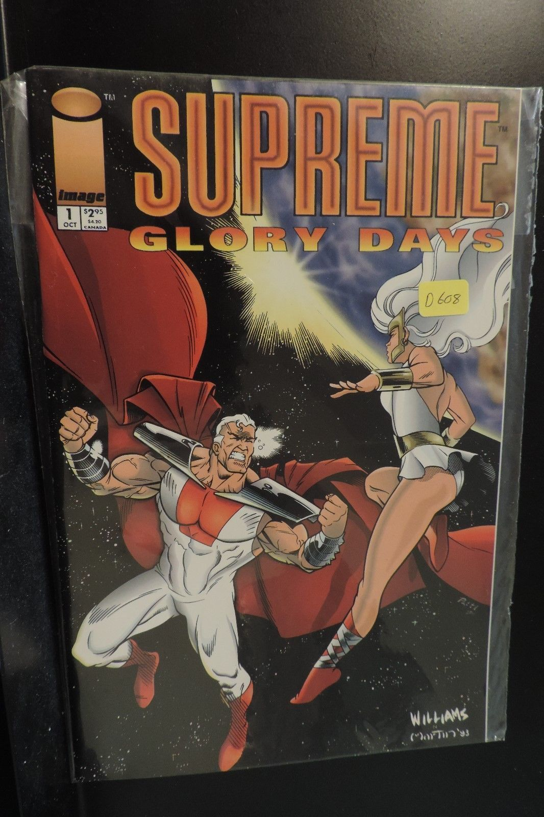#1 Supreme Glory Days 1993 Image Comic Book D608