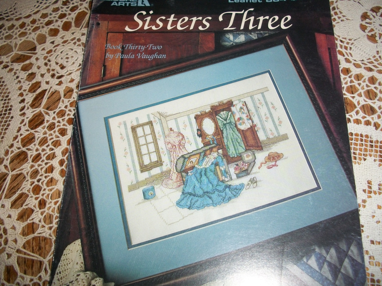 Primary image for Sisters Three Leaflet 884 Cross Stitch Book