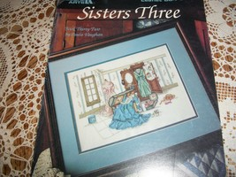 Sisters Three Leaflet 884 Cross Stitch Book  - $10.00