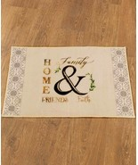 Bathroom Nonslip Rug Mat Rustic Country Primitive Farmhouse Friends Fami... - $20.65