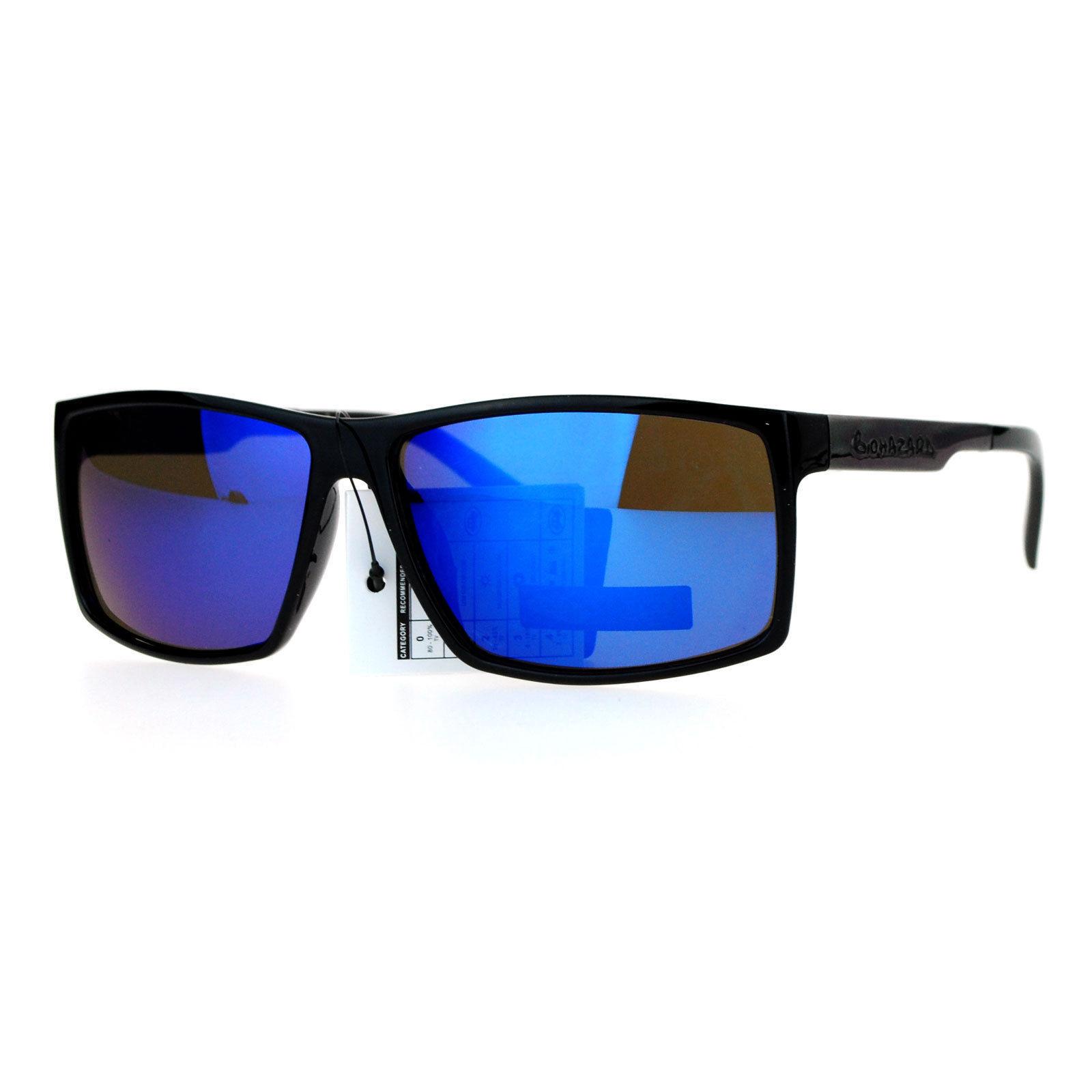 d631374c9c6 ... Biohazard Mens Sunglasses Rectangular Designer Fashion Shades UV 400 ...