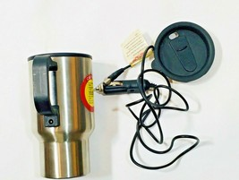 Gladiator Travel Mug 14 oz Heated & Insulated Cup 12V Power Adapter - $14.84
