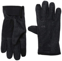 XL Men's Outdoor Research Turnpoint Sensor Touch Screen Gloves Charcoal NEW