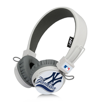 NY Yankees Bluetooth, FM Radio, Sd Card Headphones White - $26.00