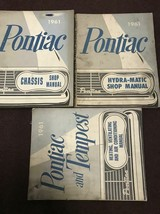 1961 Pontiac Bonneville Catalina Star Chief Service Shop Repair Manual S... - $118.75