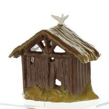 Hagen Renaker Specialty Nativity Manger with Dove Ceramic Figurine image 10