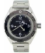 Vostok Amphibian 670919 Russian Military Watch Divers Scuba Dude Stainle... - $80.21