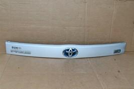 2010-15 XW30 Prius Trunk Lift Gate Handle Garnish Trim Panel Tag Light Cover