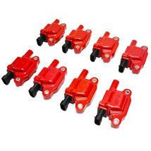 "Chevrolet GM GMC LS LSX LS1 LS2 LS3 LS6 8 Coils & 8"" 8mm Spark Plug Wires D510C image 3"