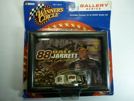 Winners Circle Dale Jarrett UPS 2002 Gallery Series Includes Framed Art 1/64 Car - $24.74