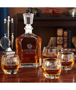 Wax Seal Argos Decanter Set with Uptown Glasses - $99.95