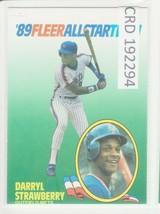 1989 89 Fleer All Star Team Darryl Strawberry   192294 - $1.86