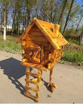 "The hut on chicken legs,""the House of BABA YAGA"" - $225.60"