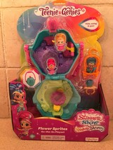 Shimmer and Shine 2018 TEENIE GENIES Flower Sprites On the Go Playset - $26.01