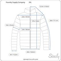 Foundry Men's Lightweight Puffer Jacket, Nav, Size 3XL image 2
