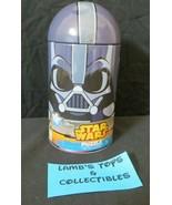"Disney Star Wars Darth Vader 100 piece canister 15"" x 11.25"" dented card... - $9.48"