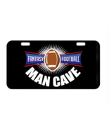 Fantasy Football Man Cave Custom Collectible Metal License Plate - $17.99