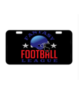 Fantasy Football League Custom Collectible Metal License Plate - $17.99