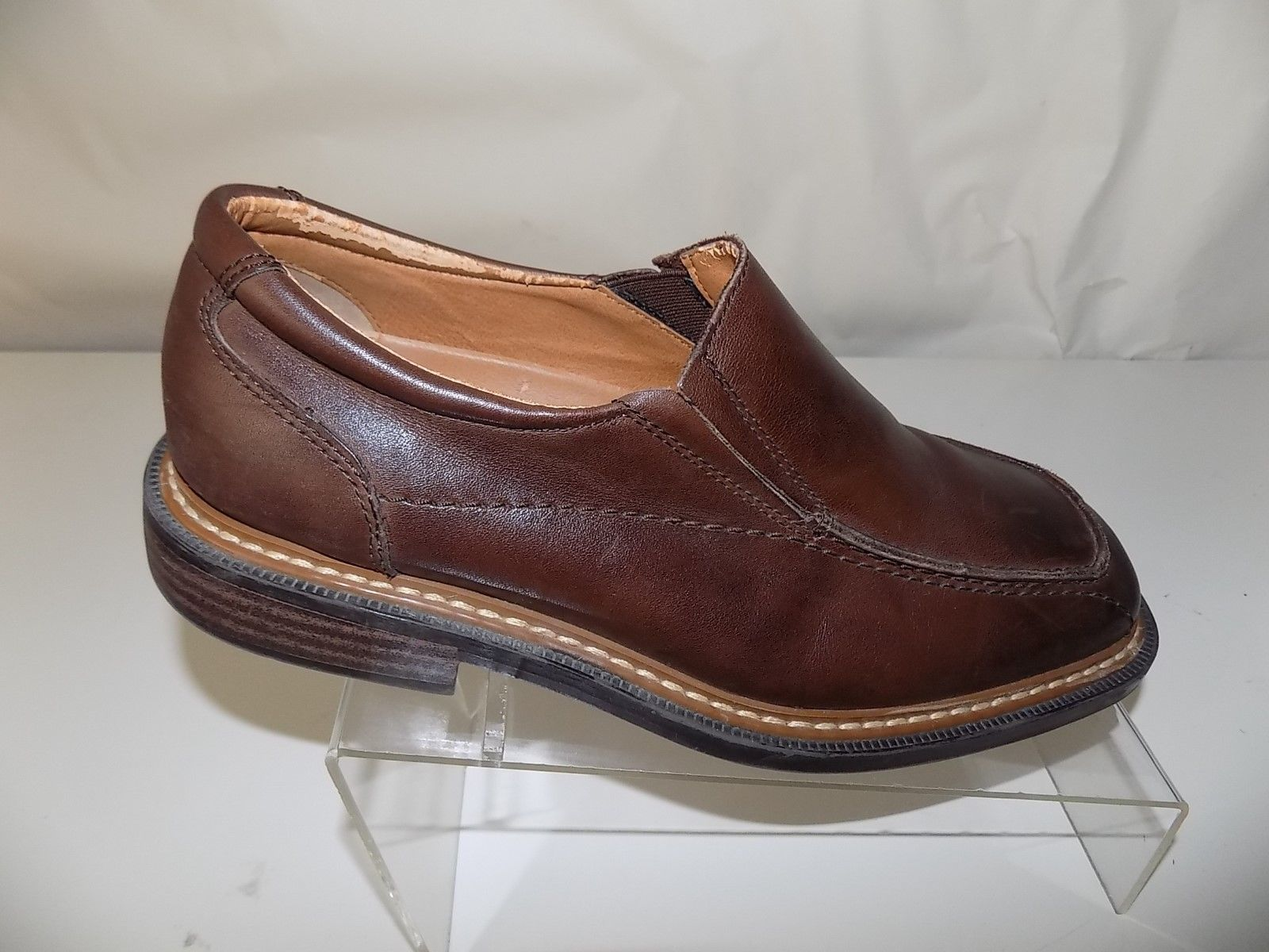 bb8b0768aff9 Skechers Collection Brown Leather Slip On and 50 similar items