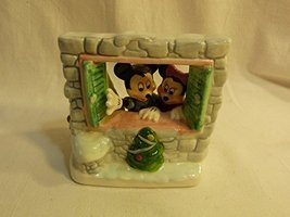 """Disney Schmid 1986 """"Tree for Two"""" Mickey & Minnie Mouse 2nd Limited Edition  - $59.98"""