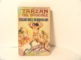 Tarzan the Invincible by Edgar Rice Burroughs A... - $8.54
