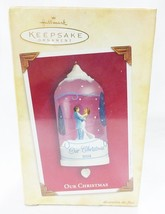 Hallmark keepsake christmas ornament our christmas bride and groom waltzing - $9.89