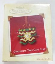 Hallmark keepsake christmas ornament tree gift clip - $10.88