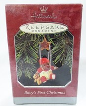 Hallmark keepsake christmas ornament baby first christmas - $9.89