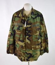 NWT COMBAT TYPE 1 Woodland CAMO US ARMY Day Monogram COAT JACKET Medium ... - $22.76