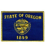 Oregon State Flag Embroidered Patch Iron-On OR Emblem - $3.99