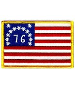 American Flag Embroidered Patch Bennington 1776 Version Iron-On United S... - $4.99