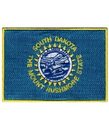 South Dakota State Flag Embroidered Patch Iron-On SD Emblem - $3.99