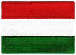 Hungary Flag Embroidered Patch Hungarian Iron-On National Emblem - $3.99