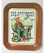 """Vintage The Saturday Evening Post """"Decoys"""" 2003 Metal Tray - £14.62 GBP"""