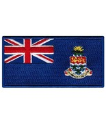 Cayman Islands Flag Embroidered Patch Iron-On Caribbean National Emblem - $3.99
