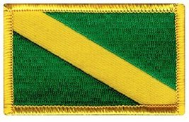 Nitrox Diver Down Flag Patch Dark Green Embroidered Iron On Scuba Diving Embl... - $3.99