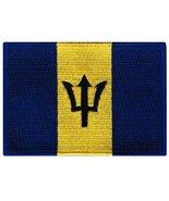 Barbados Flag Embroidered Patch Bajan Iron-On National Emblem - $3.99