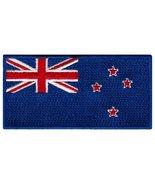 New Zealand Flag Embroidered Patch Kiwi Iron-On National Emblem - $3.99